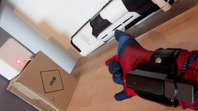 This Fan-Made Spider-Man Web Shooter Really Works