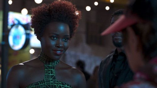 Lupita Nyong'o channels Chadwick Boseman's stunning Rolling Stone cover on Instagram and it's perfect