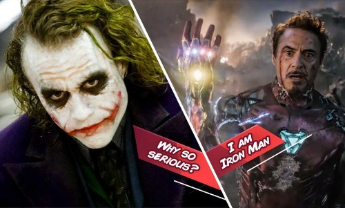 The Contest For the Best Movie Lines Ever Feature Joker, Gabbar And Tony Stark