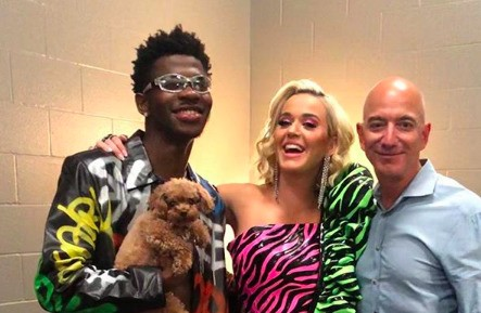 Jeff Bezos, Lil Nas X and Katy Perry Hung Out And The Photos Are Pretty Awkward