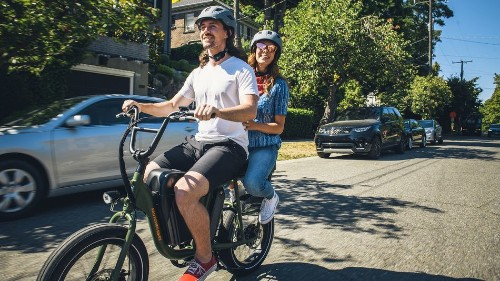 New RadRunner e-bike is hefty enough to carry a second rider