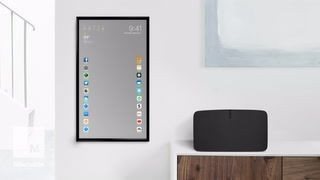 This smart mirror is actually a giant iPhone