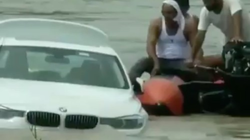 22-year-old teen sinks his brand new BMW into the river because he wanted a Jaguar for his birthday - Culture - Mashable SEA