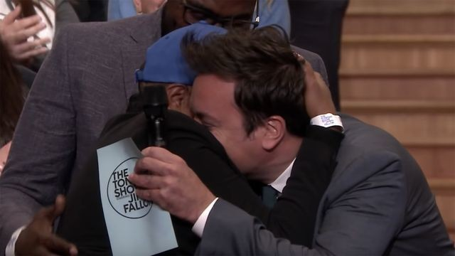 Jimmy Fallon surprises military veteran with $50K in heartwarming video