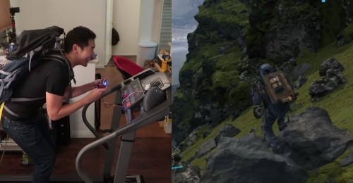 Gamer creates treadmill PS4 controller to force himself to exercise while gaming - Culture