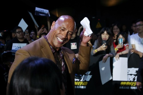 Dwayne 'The Rock' Johnson named Forbes' highest paid actor of 2019