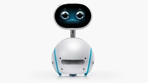 Asus Zenbo is an E.T.-like home robot with a touchscreen face