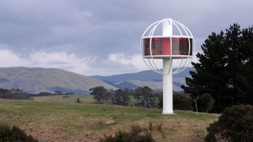 Solar-powered 'treehouse' has 360-degree views, Wi-Fi and beer