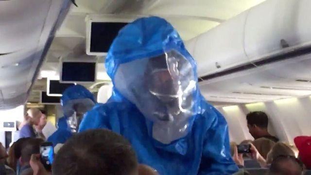 'Idiot' US Airways Passenger Makes Ebola Joke, Hazmat Team Shows Up