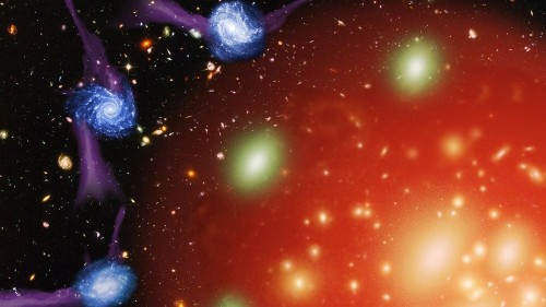 Galaxies are killed through strangulation, new research shows