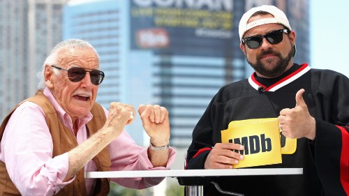 Yes, Kevin Smith saw Stan Lee's 'Captain Marvel' cameo. He's getting them back.