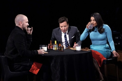 'Hot Ones' makes Priyanka Chopra cry and Jimmy Fallon do laps eating spicy wings