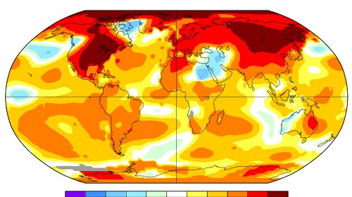 Earth just had its second-warmest February on record
