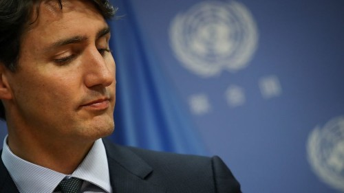 Justin Trudeau apologizes for wearing brownface in old yearbook photo, calls it racist