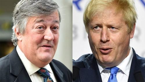 Stephen Fry tweets a brutal takedown of UK prime minister Boris Johnson
