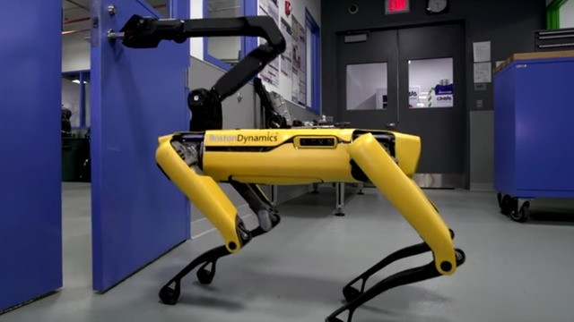 Boston Dynamics' dog robot can open up doors now and WTF we're all dead