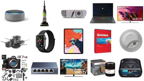 Save $50 off Apple Watch Series 4, plus deals on Echo Dot, Samsung 4K TV, and more for May 4