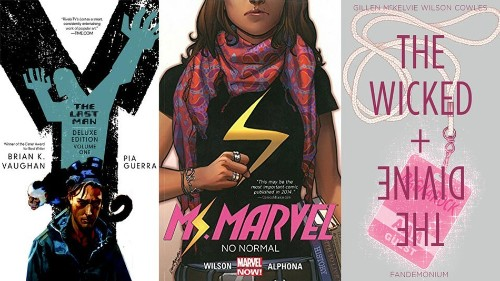25 comic books for nerdy newbies to read first