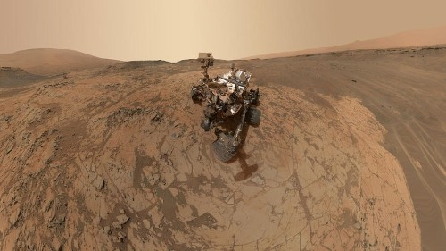 Curiosity rover celebrates six cold, lonely years on Mars with a tweet