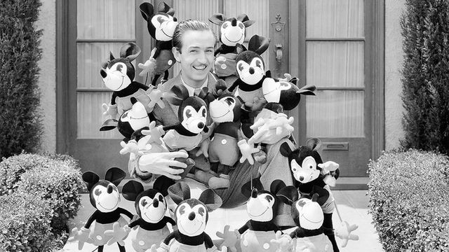 Rarely seen images from the Walt Disney Archives