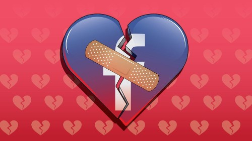 Facebook will capitalize on your broken heart — just in time for Valentine's Day
