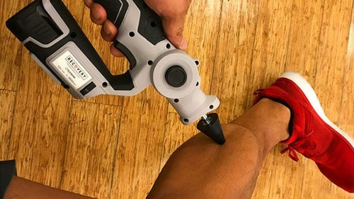 Recover like a pro athlete by using this massage 'gun' that's on sale