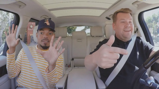 Chance the Rapper has the best damn time on James Corden's 'Carpool Karaoke'