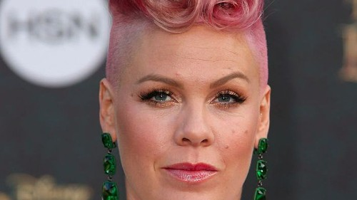 Pink proudly reveals she hasn't lost any weight since giving birth