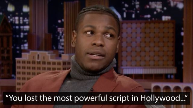 John Boyega breaks down the horrible moment he found out his lost 'Star Wars' script was on eBay