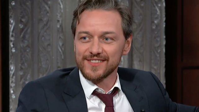 Watch James McAvoy adorably fail to say the word 'burglary'