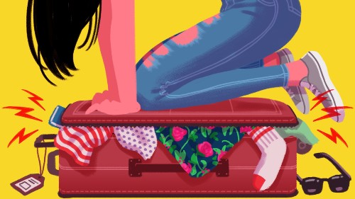 How to pack a suitcase when you're super high-maintenance like me