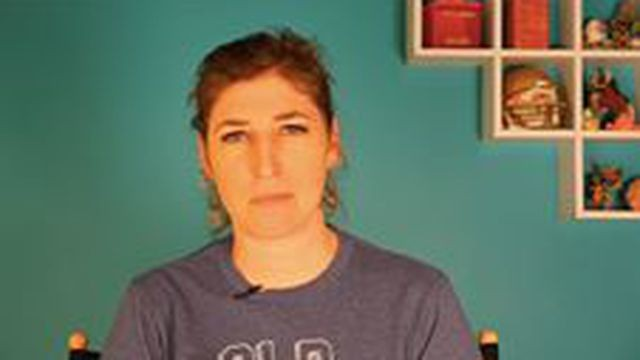 Mayim Bialik has something to say about people calling grown women 'girls'