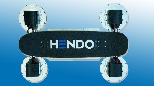 Hendo reveals next-gen hoverboard in time for 'Back to the Future' celebrations