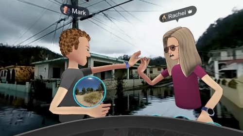 Mark Zuckerberg took his VR avatar to Puerto Rico, and it was just so awkward