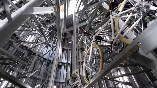 Japan's insane underground bicycle parking lots are the future