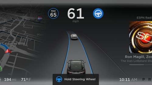 Elon Musk's favorite Autopilot feature just got updated