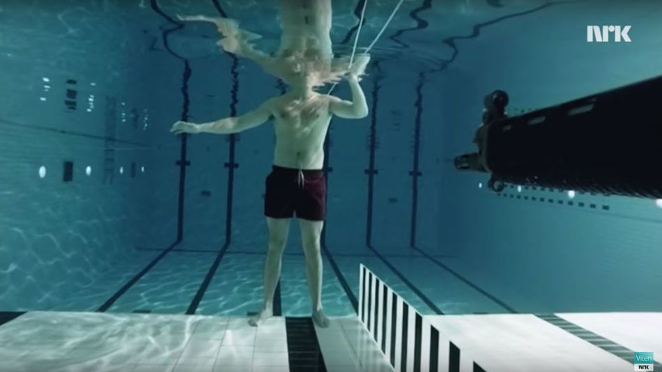 Physicist fires a gun at himself underwater to prove a point