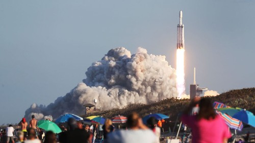 SpaceX landed three of its boosters for the first time, and yep, it was impressive