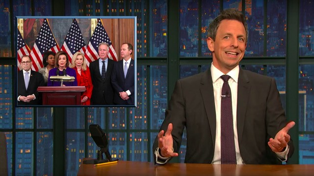Seth Meyers unpacks how Trump's crimes go way beyond the articles of impeachment