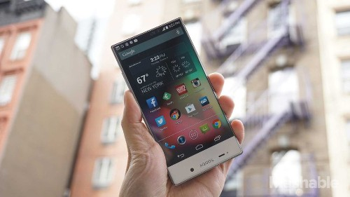 Sharp Aquos Crystal: The future of smartphones looks like this