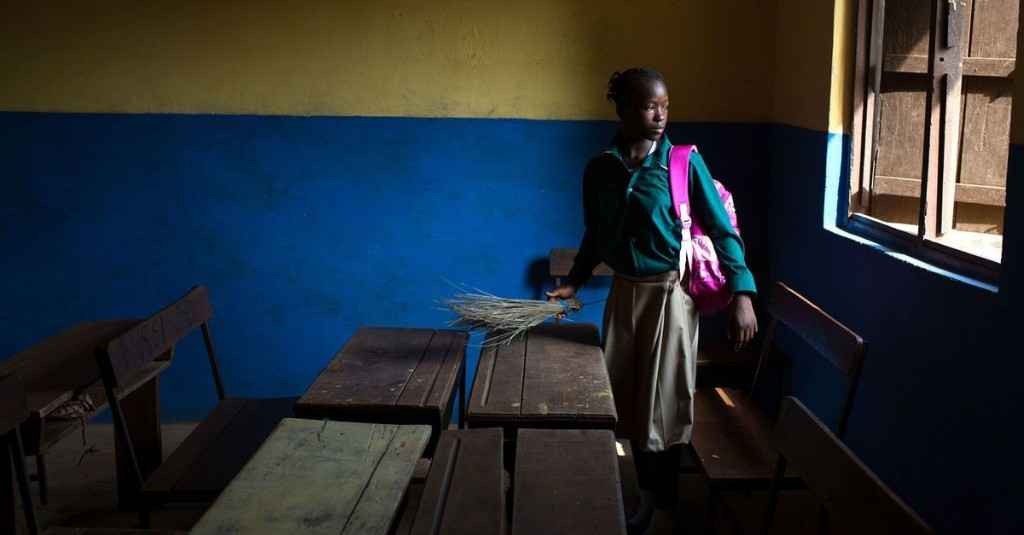 Life after Ebola: The first day of school in Sierra Leone