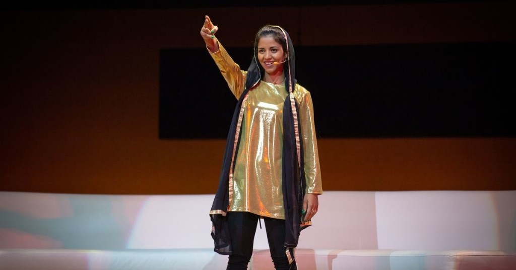 Sonita Alizadeh avoided being a child bride. Now she raps about ending forced marriage.