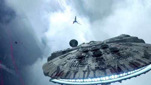 'Star Wars: Battlefront' spaceship combat looks completely ridiculous