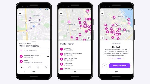 Lyft launches 'trending destinations' feature for aimless (and adventurous) riders