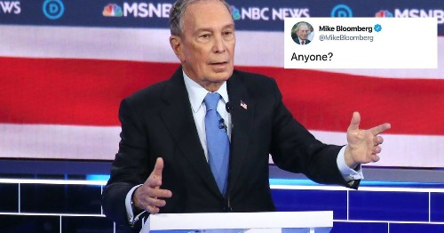Bloomberg responds to poor debate performance with a cringey doctored video where he looks good