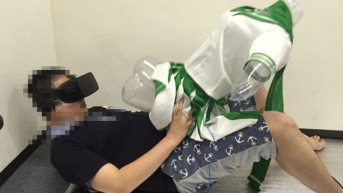 VR porn festival turned away hundreds of people from trying out digital sex