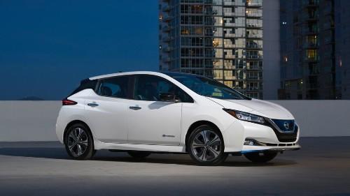 Nissan unveils the new Leaf e+ at CES 2019