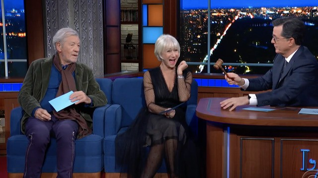 Helen Mirren and Ian McKellen act out Trump's Ukraine call and it's Oscar-worthy