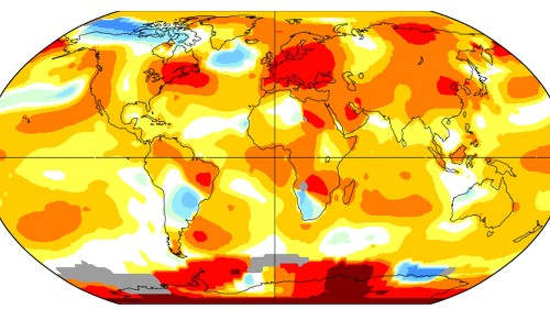 The last 5 Augusts have been the hottest in recorded history