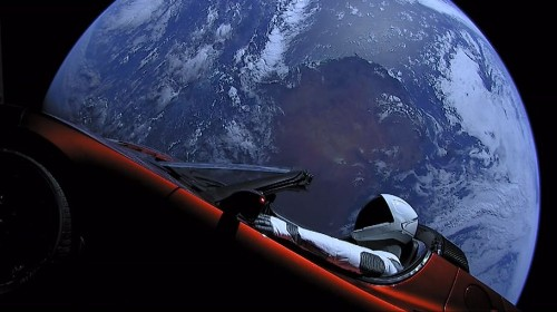 Elon Musk's Tesla Roadster Finishes Its First Trip Around The Sun
